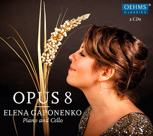 CD-Cover Gaponenko 'Opus 8'